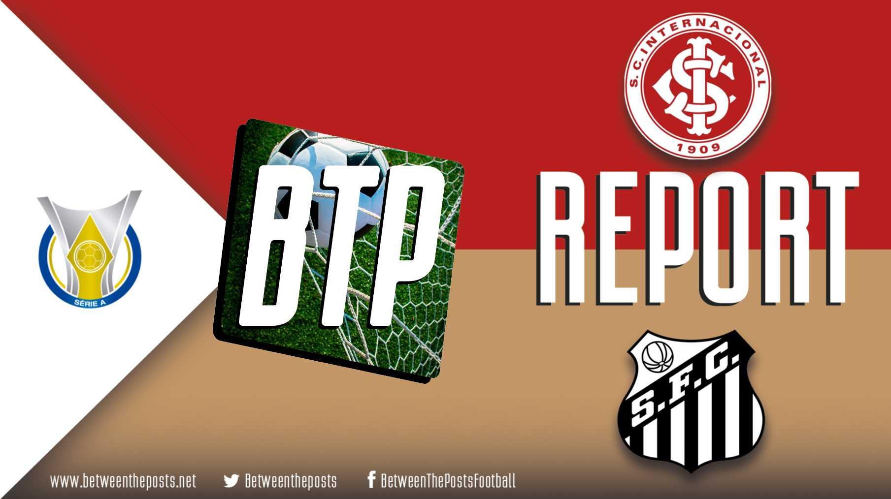 Tactical analysis Internacional Santos 0-0 Brasileiro