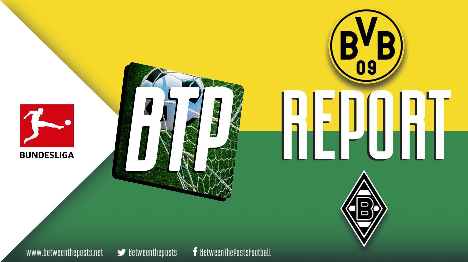 Tactical analysis Borussia Dortmund Mönchengladbach 1-0 Bundesliga