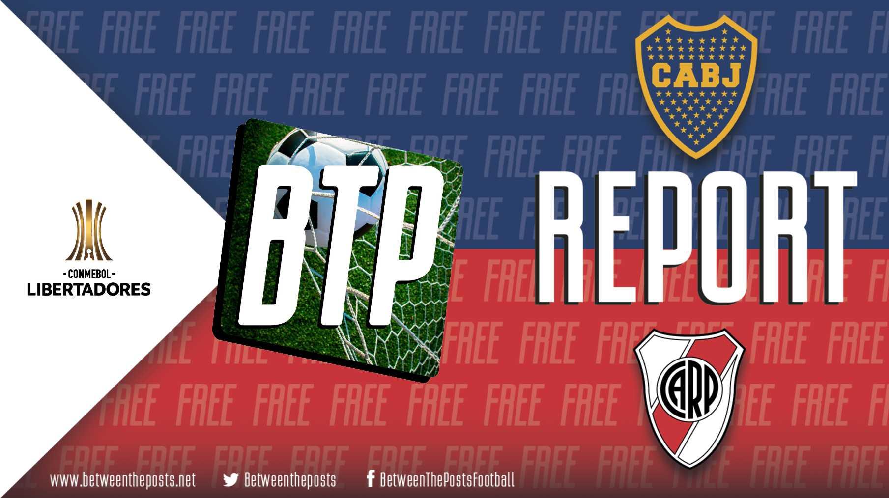 Tactical analysis Boca Juniors River Plate 1-0 Copa Libertadores