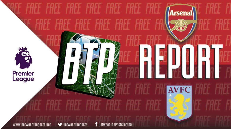 Arsenal – Aston Villa: Villa Shape Creates Arsenal Playground (3-1)
