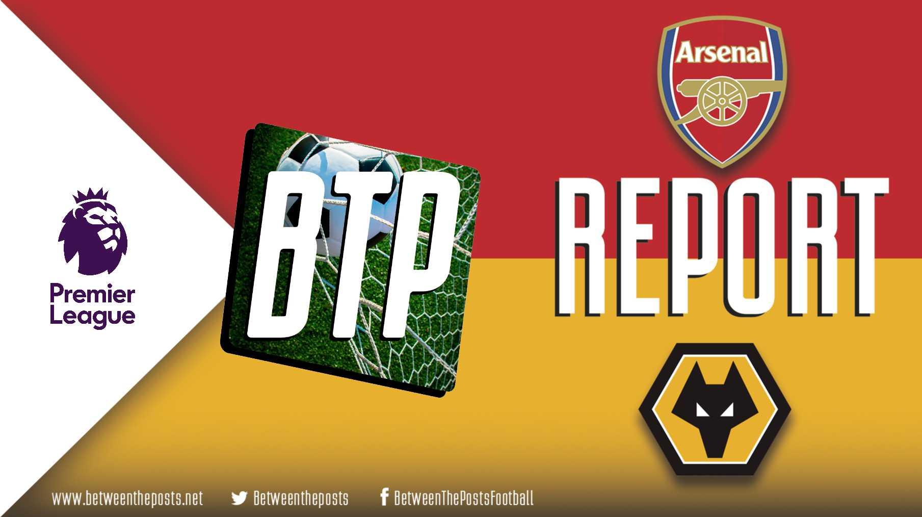 Tactical analysis Arsenal Wolverhampton Wanderers 1-1 Premier League