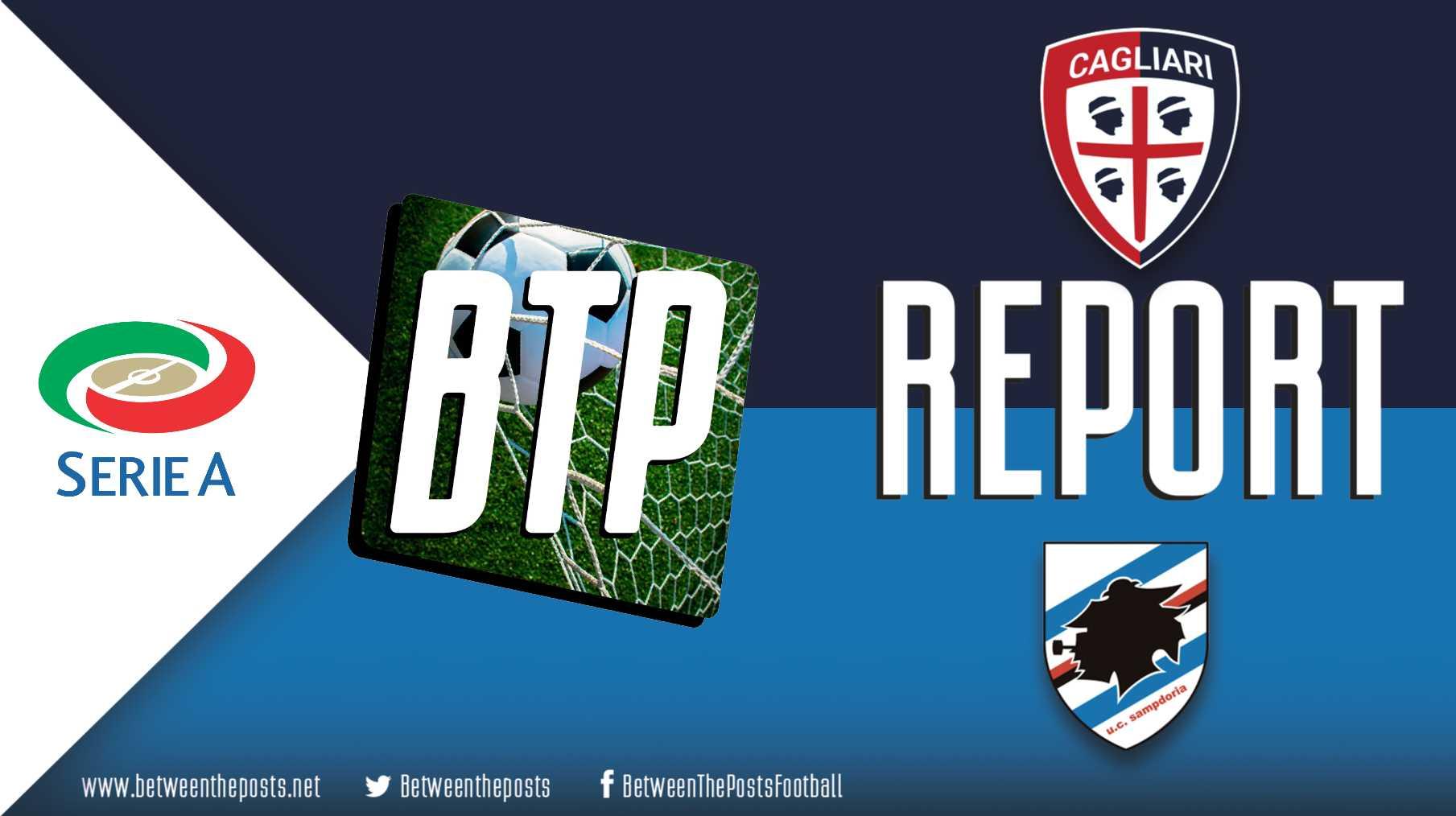 Tactical analysis Cagliari Sampdoria 4-3 Serie A