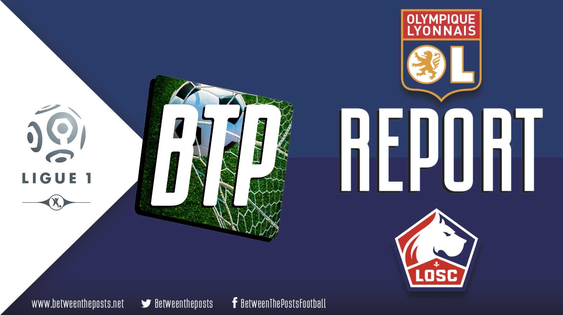Tactical analysis Olympique Lyonnais Lille OSC