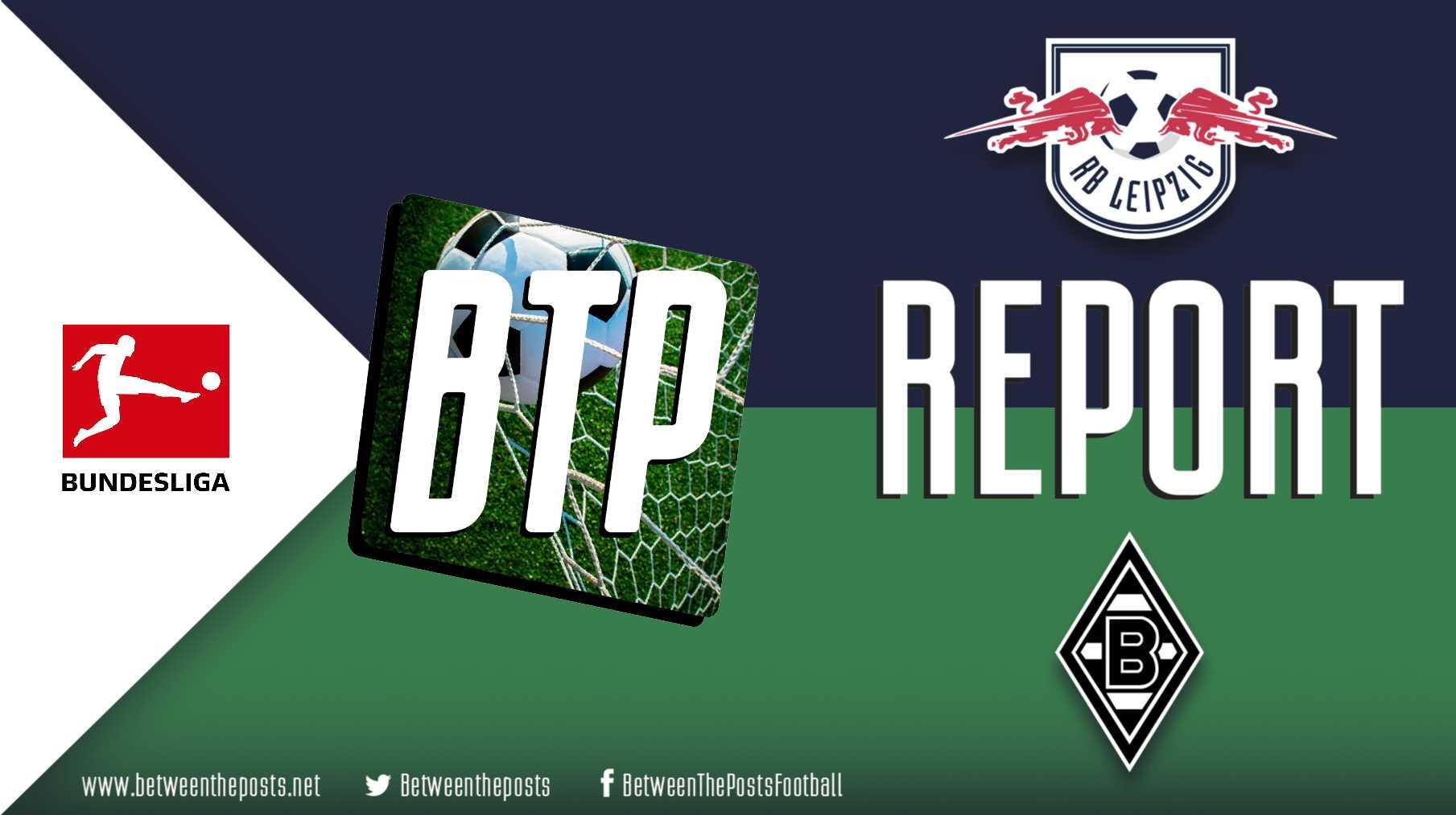 Tactical analysis RasenballSport Leipzig Borussia Mönchengladbach 2-2 Bundesliga