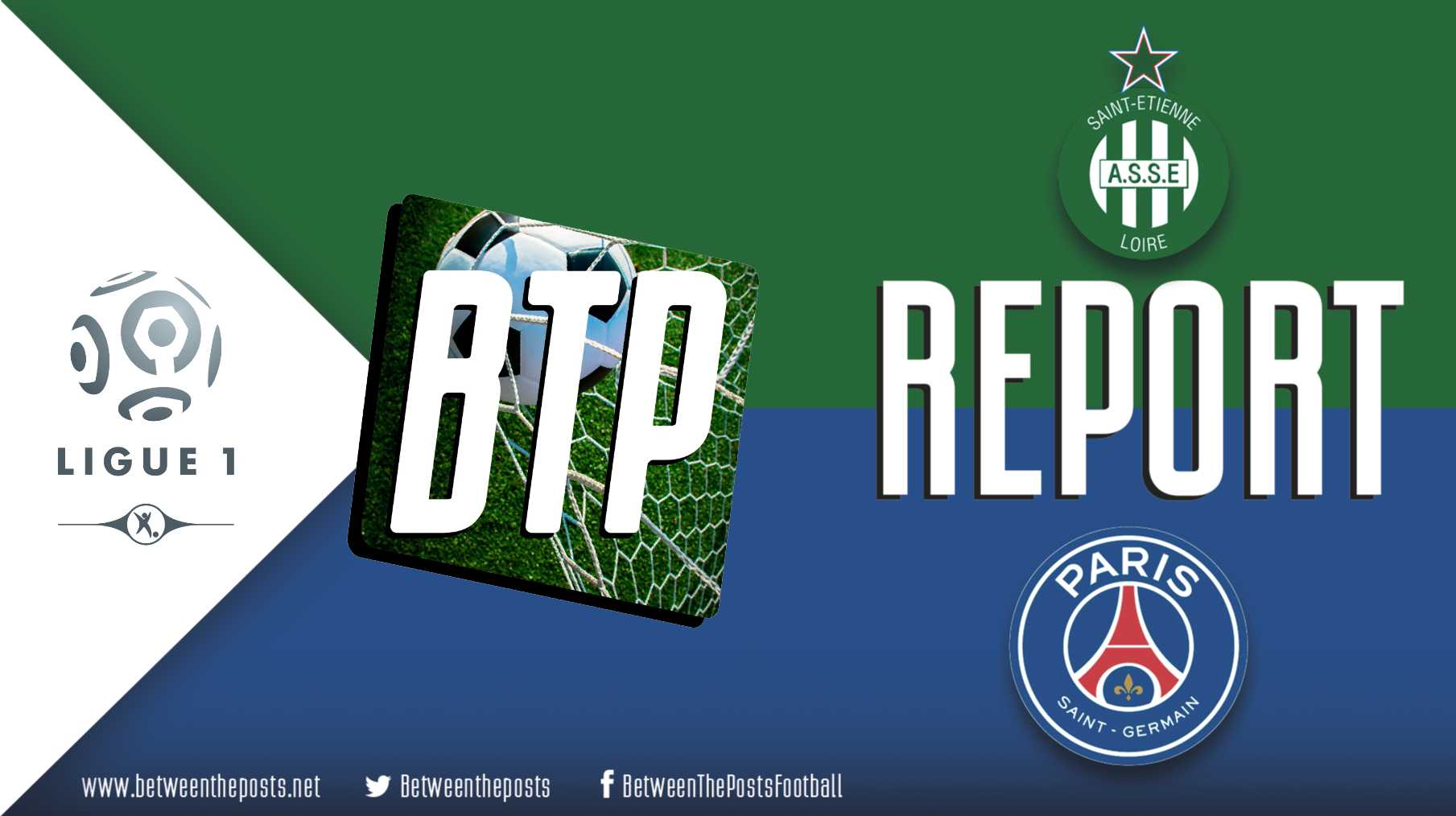 Tactical analysis Saint-Étienne Paris Saint-Germain 0-4 Ligue 1