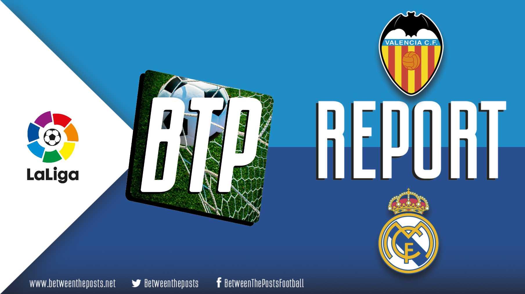 Tactical analysis Valencia Real Madrid 1-1 LaLiga