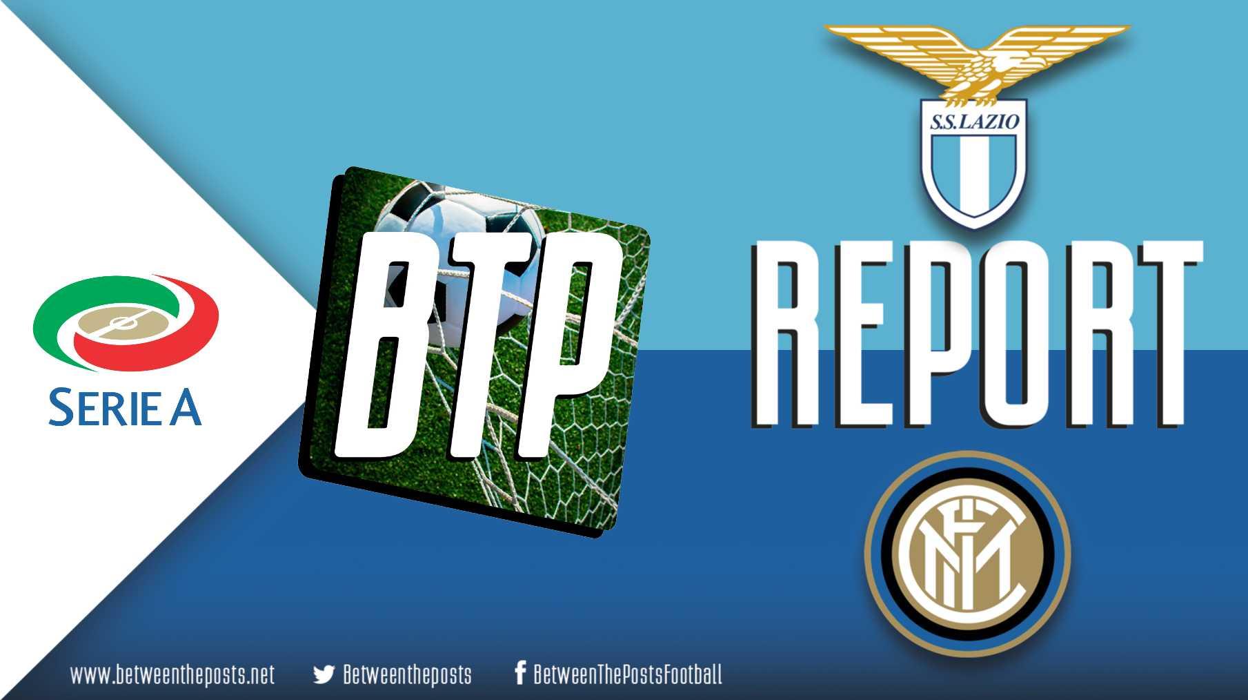 Tactical analysis Lazio Roma Internazionale 2-1 Serie A