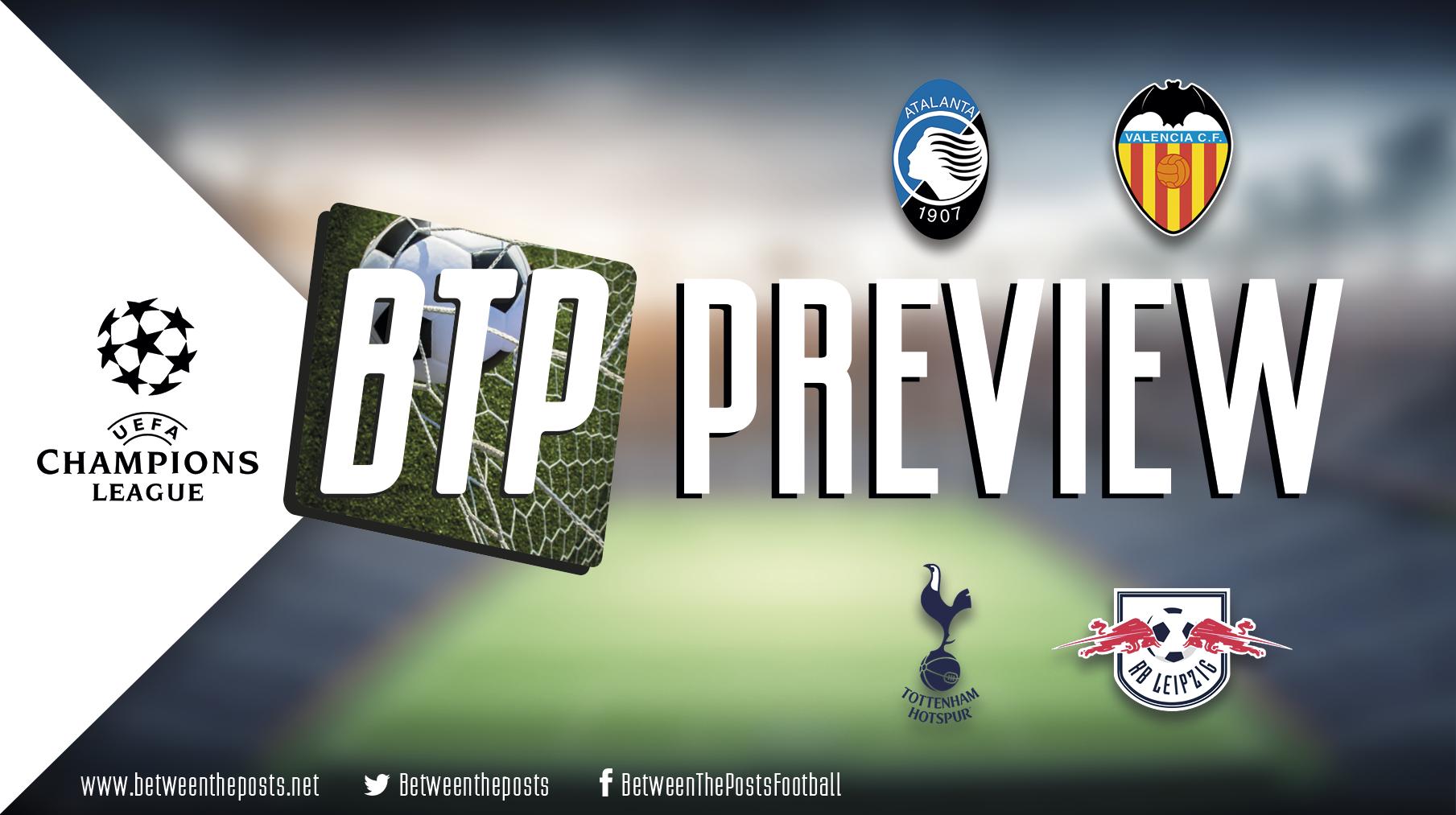 Tactical Preview Atalanta Bergamo Valencia Tottenham Hotspur RB Leipzig